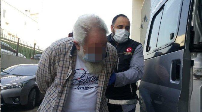 70 yaşında uyuşturucu ticaretinden gözaltına alındı
