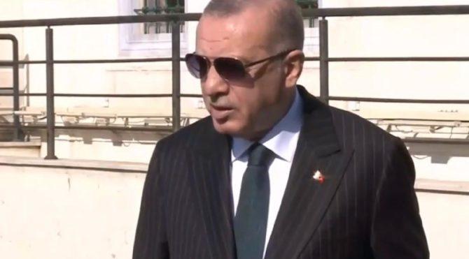 Erdoğan: Toplu mekanlardan kaçının