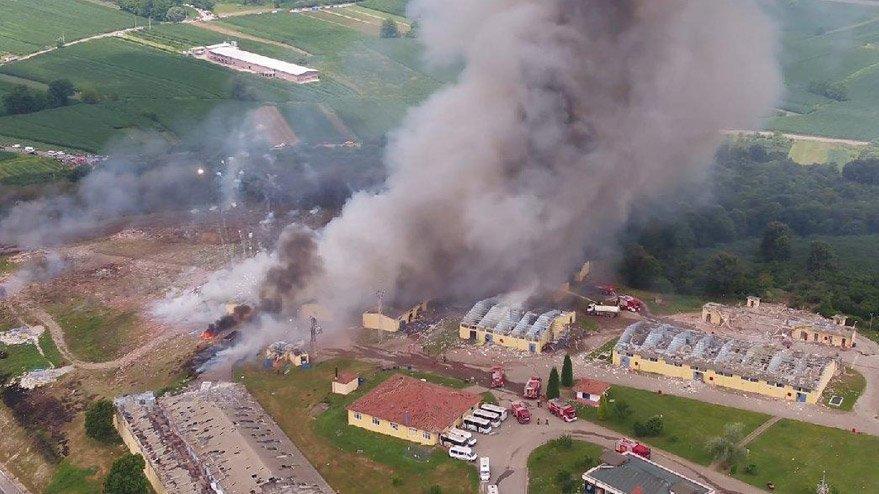 Havai fişek fabrikasındaki patlamaya ilişkin iddianame kabul edildi