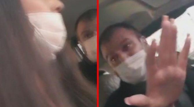 Taksiciden kadın müşteriye tehdit: Gebertirim seni