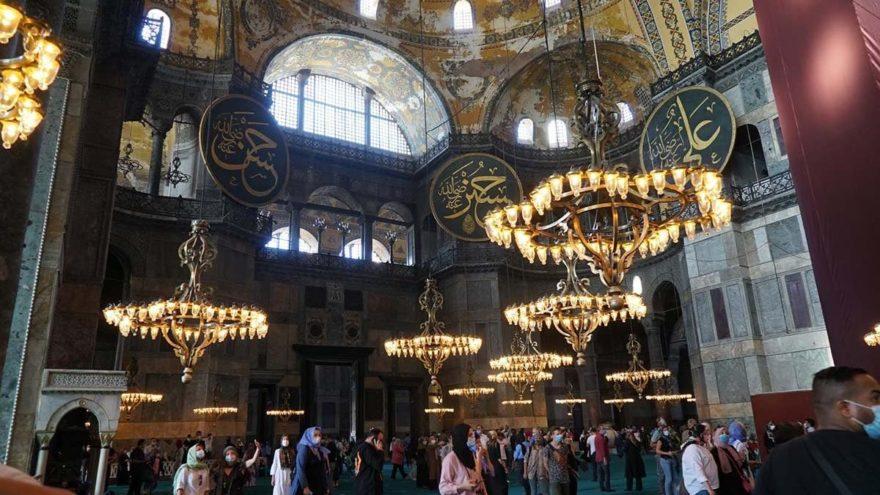 Ayasofya'da Fatih'in iradesine uyulmadı