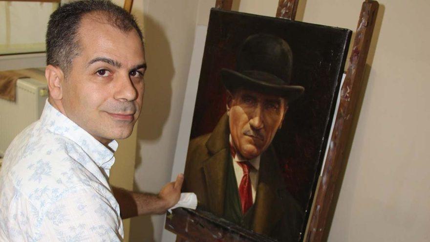 İranlı ressamın Mustafa Kemal Atatürk sevdası