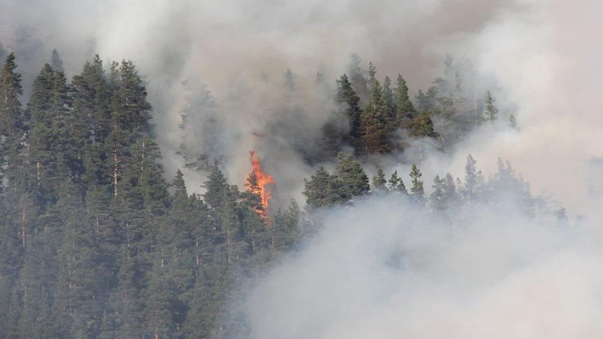 Kastamonu'da iki farklı noktada orman yangını! 3 gündür devam ediyor