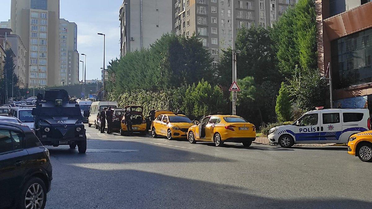 Taxi fight again in Esenyurt