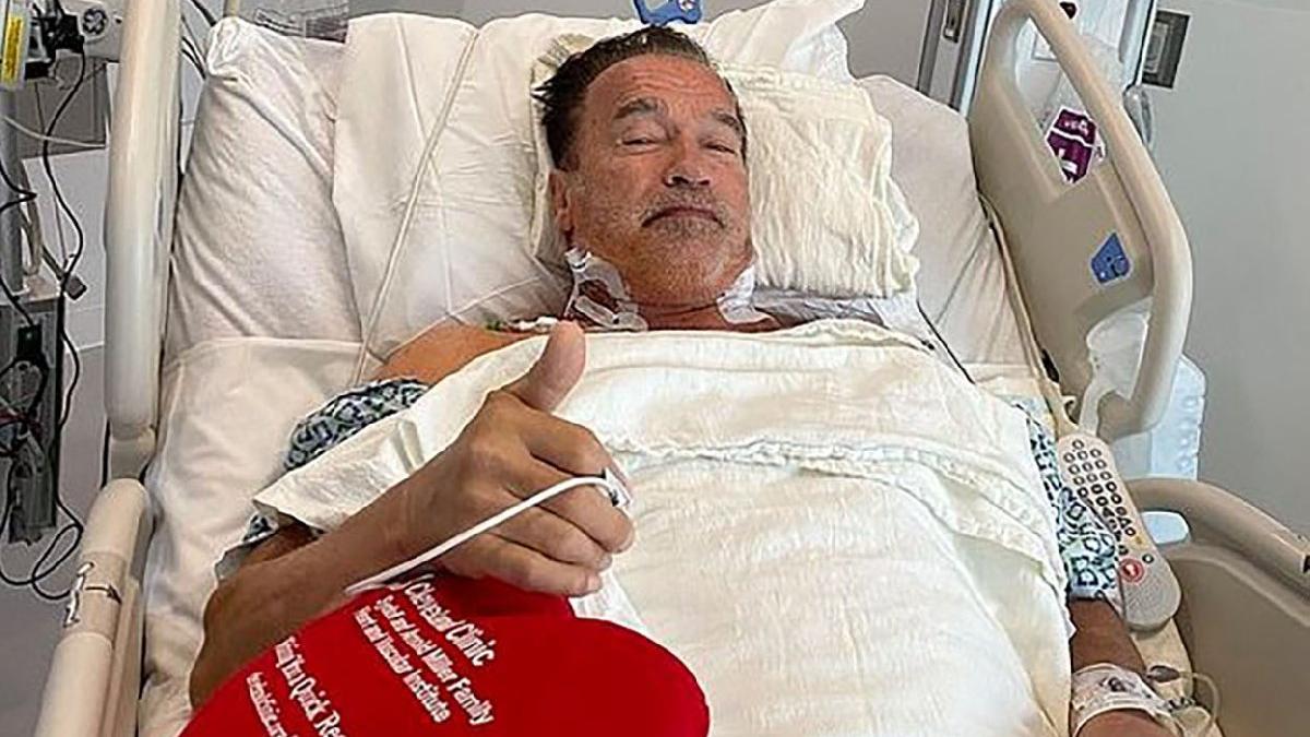 Terminatör hastane odasından paylaştı! Schwarzenegger kalp ameliyatı geçirdi