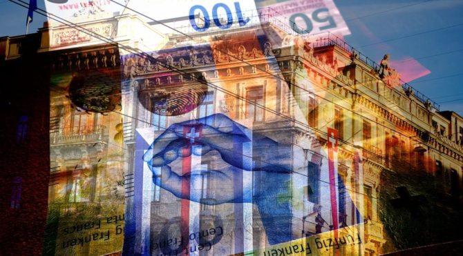 Süper zenginlerin paralarını sakladığı İsviçre'de pandemi bayramı