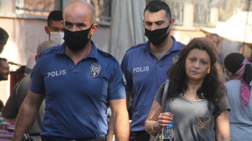 Kocasının eve kilitlediği kadını polis kurtardı