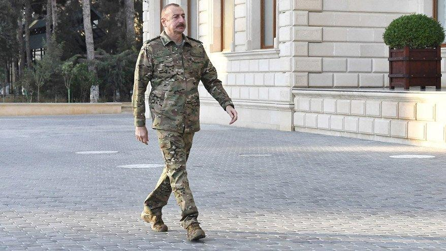 Aliyev'den çok sert Dağlık Karabağ çıkışı: Dışarıdan müdahale olursa F-16'ları görecekler