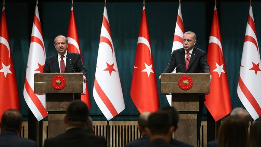 Erdoğan: Türk tarafı Kıbrıs'ta adil çözümden yanadır