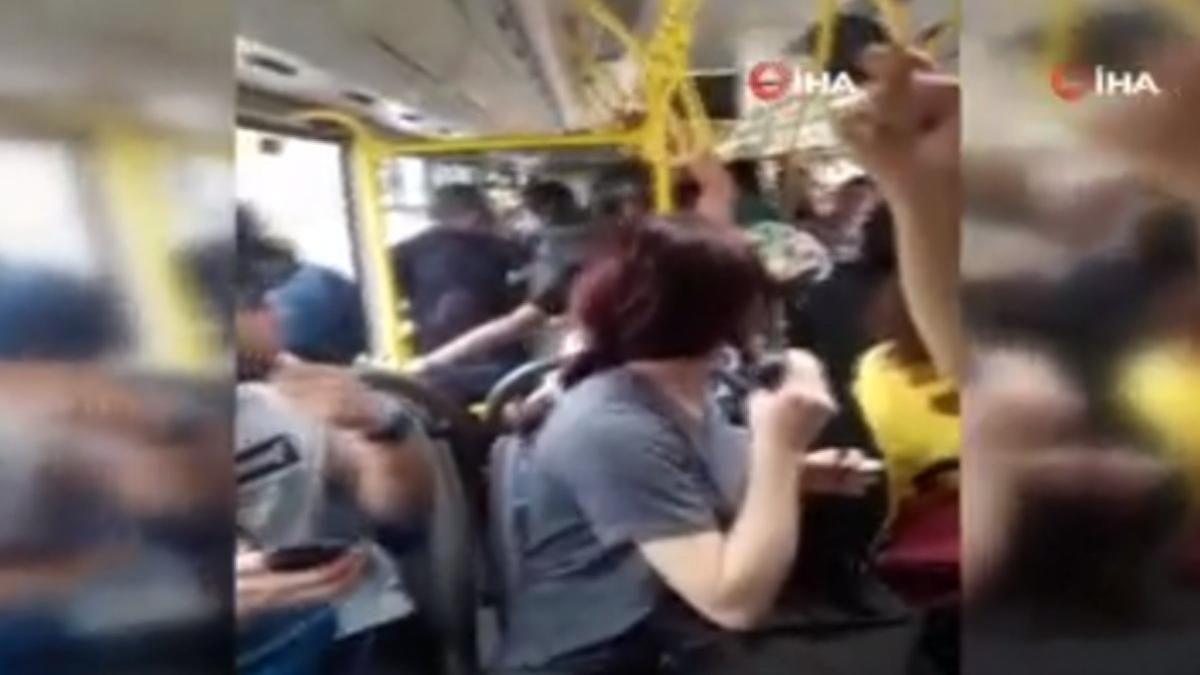 Otobüs sapığını şoför yakalayıp polise teslim etti