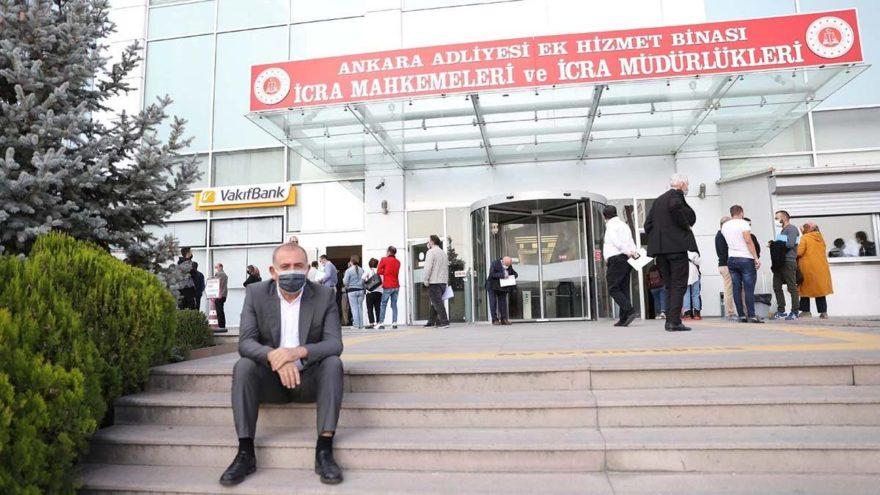 Ankara'da icraya düşenler 12 katlı daireye sığmıyor