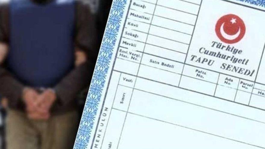 Gayrimüslimlere ait mülkleri sahte belgelerle üzerlerine geçiren şebekeye operasyon