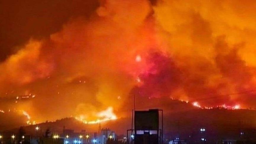 Son dakika... Hatay'daki yangınla ilgili açıklama: Normal bir yangın değil