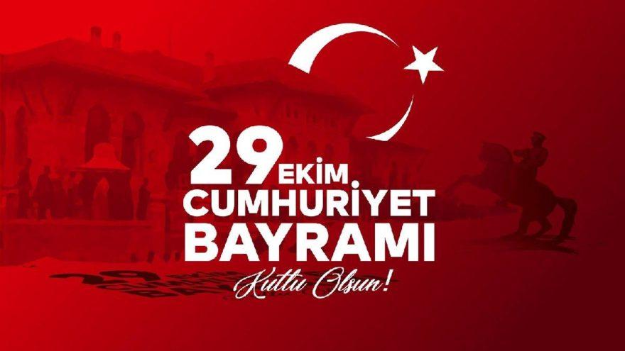 29 Ekim Cumhuriyet Bayramı mesajları… Cumhuriyetimizin 97. yılı kutlu olsun!