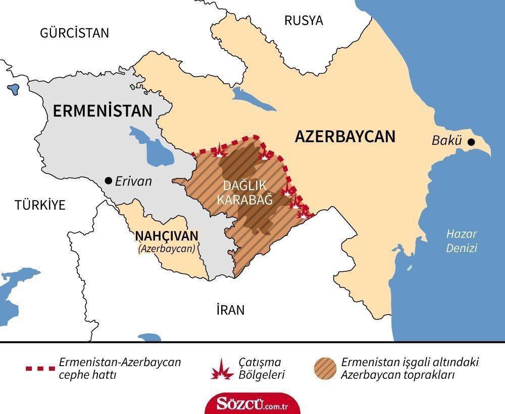 Azerbaycan Berde'nin intikamını böyle aldı! Üst düzey komutanlar öldürüldü