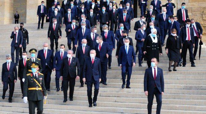 Erdoğan lehine slogan atanlar Anıtkabir'e listeyle alındı iddiası