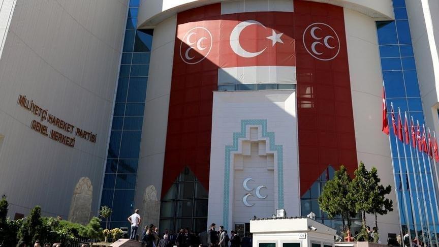 MHP'den Davutoğlu'na sert yanıt