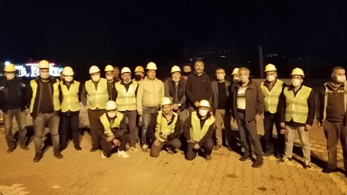 Tazminat mağduru madenciler İzmir'e yardıma gidiyor