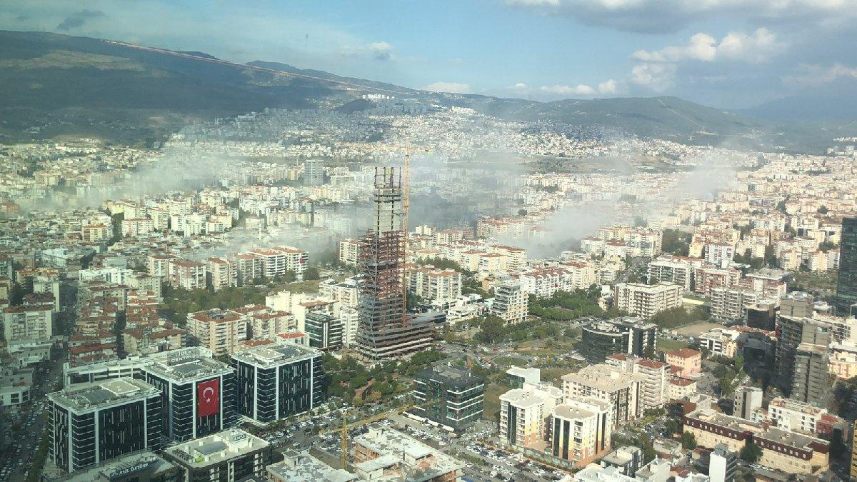 İzmir depremi sonrası ürküten manzara