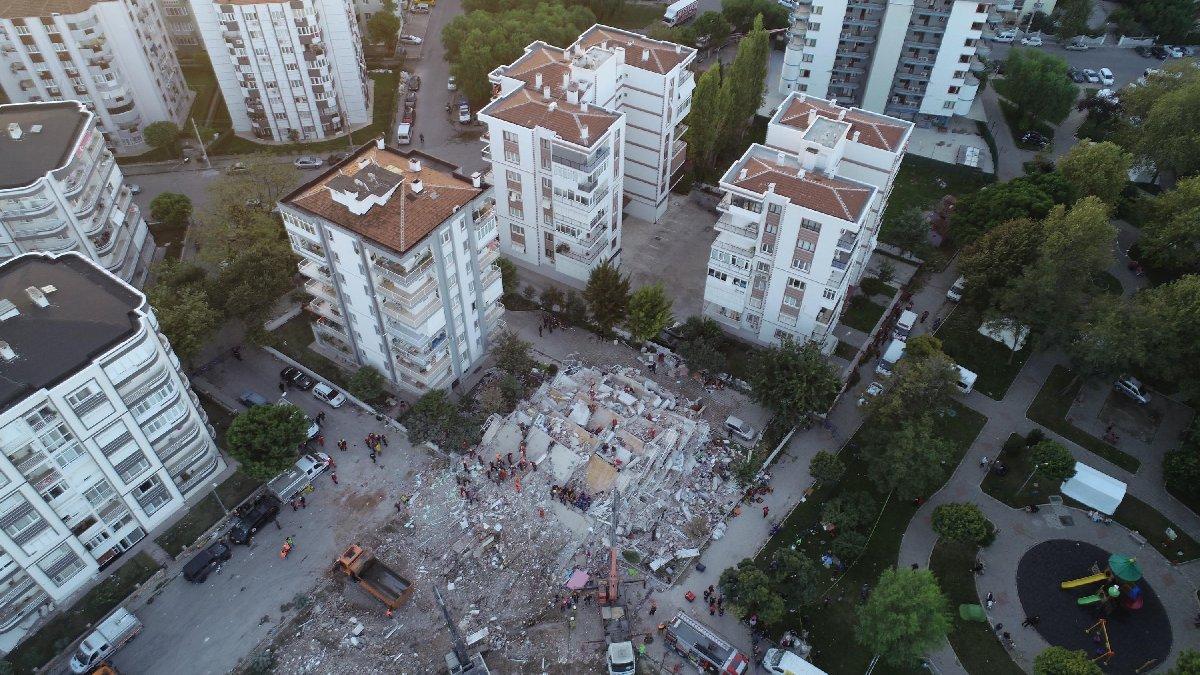 Bayraklı'da yıkılan binalar ruhsatlıymış