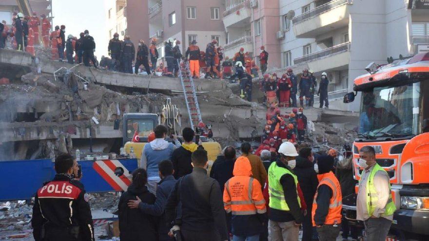 İzmir depreminde ölü sayısı 79'a çıktı