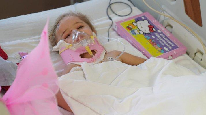 Elif'in hastanedeki ilk görüntüsü