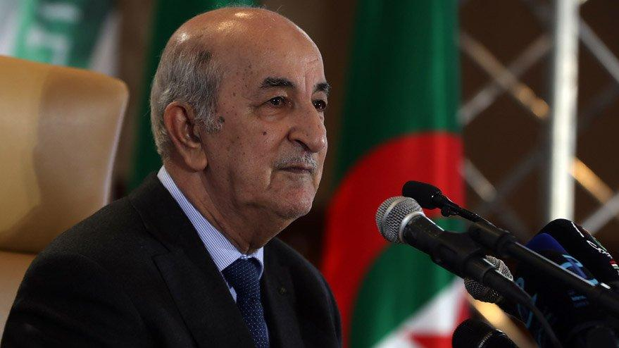 Cezayir Cumhurbaşkanı coronaya yakalandı