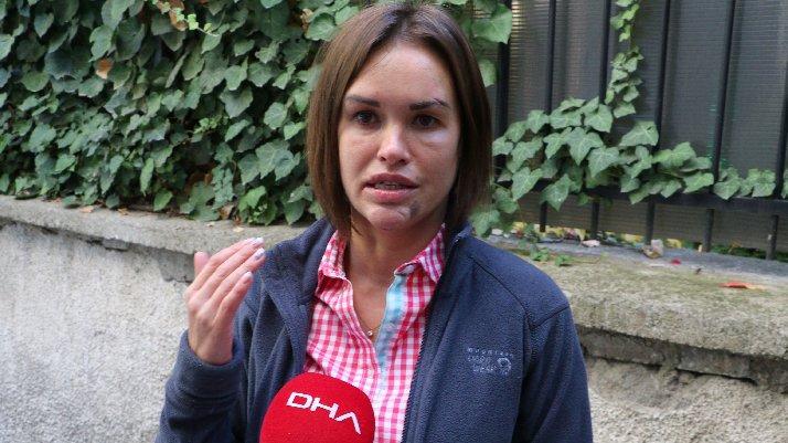 Eşi, güzellik uzmanı Rus'a dehşeti yaşattı