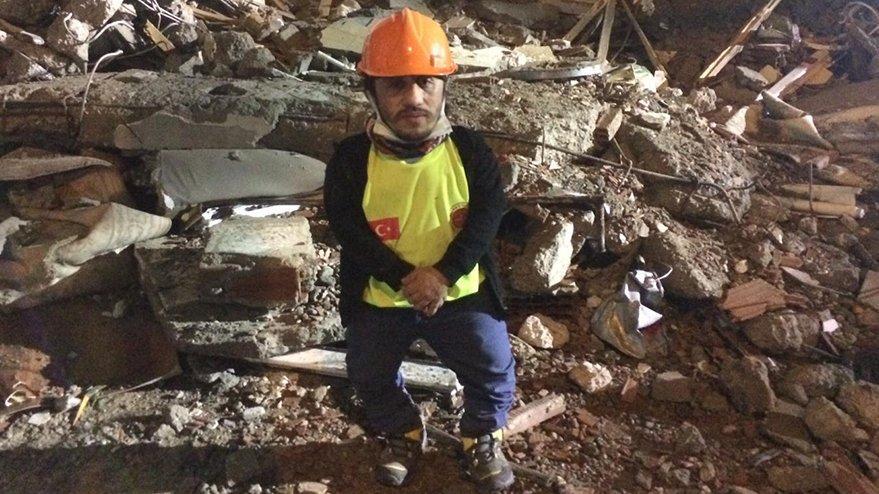 Depremin 98 santimlik kahramanı