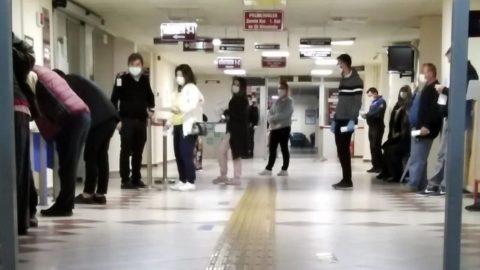 Hastanelerde Covid-19 yoğunluğu