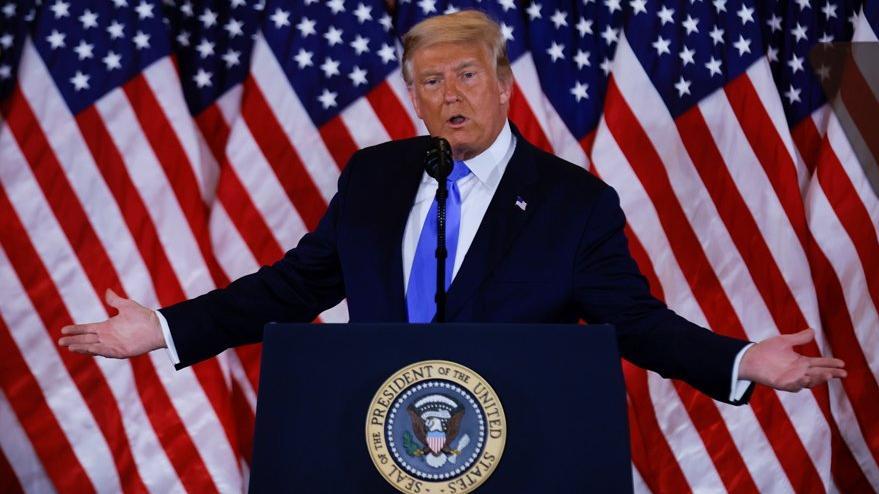 ABD Başkanlık Seçimleri'nde flaş gelişme: Trump zaferini ilan etti