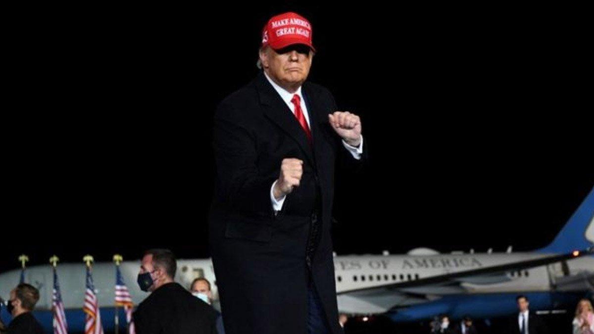 Trump 'çok ilginç' dedi, Twitter uyarı etiketi astı