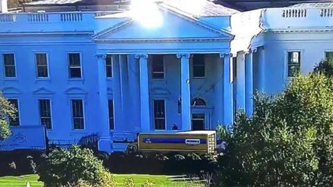 Beyaz Saray'da dikkat çeken görüntü... Kamyon kapıya dayandı: Melania gitmeye hazır