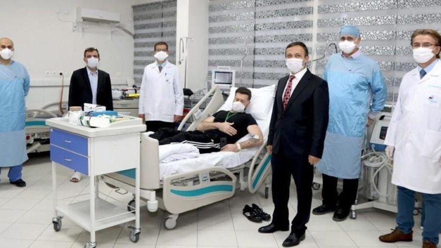 Prof. Dr. Mustafa Çalış: Önümüzdeki günlerde gönüllüleri 10'ar 10'ar alacağız