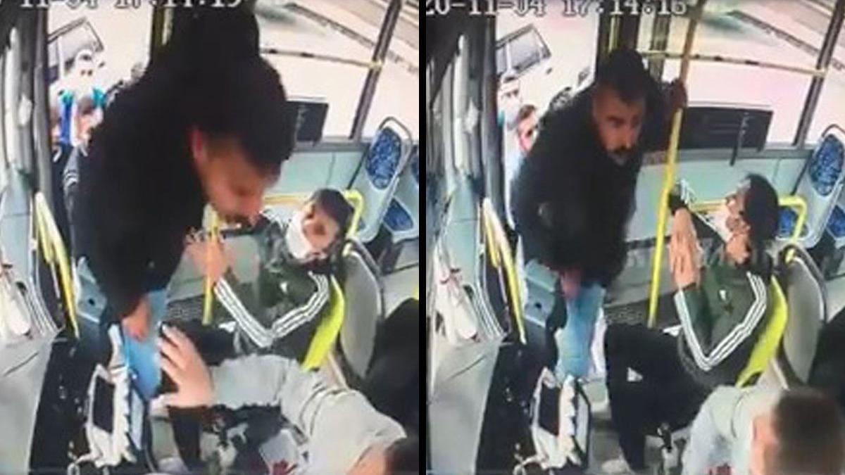 """""""Neden yolcumu alıyorsun"""" dediği halk otobüsü sürücüsünü böyle tokatladı"""