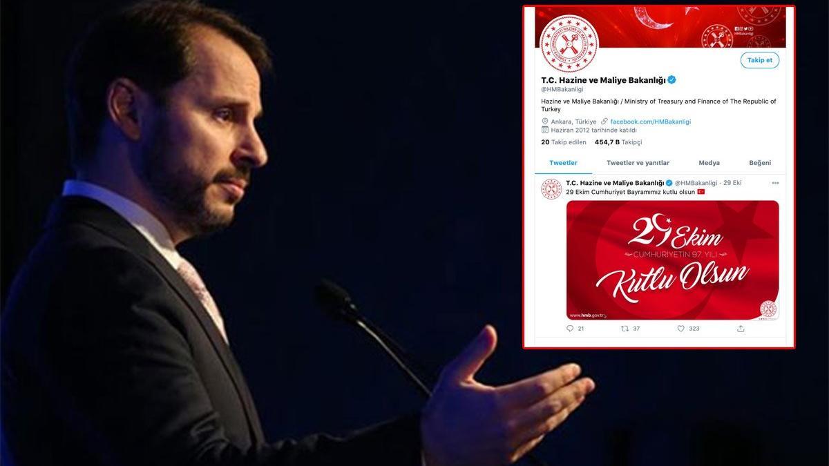 Berat Albayrak'ın istifası sonrası Twitter'da dikkat çeken değişiklik