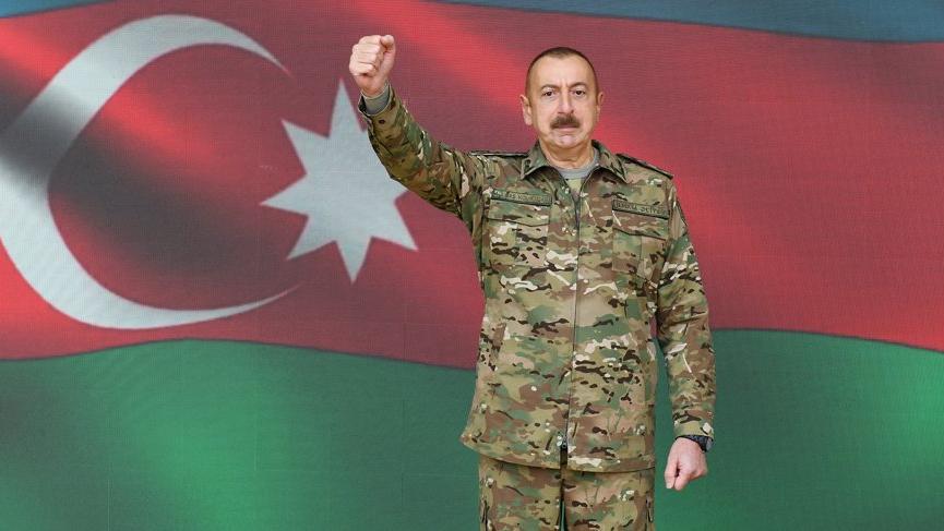 Aliyev duyurdu: Çok sayıda köy ve stratejik öneme sahip nokta işgalden kurtarıldı