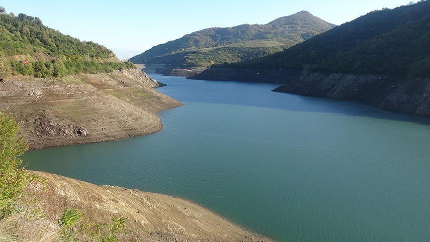 Yuvacık Barajı'nda su seviyesi yüzde 24'e düştü