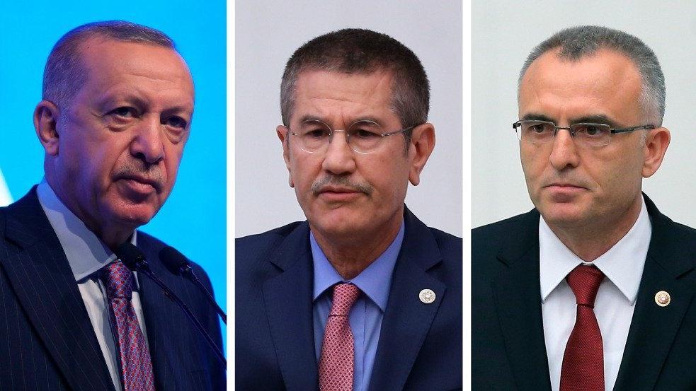 Bloomberg: Erdoğan dün gece Canikli ve Ağbal ile görüştü