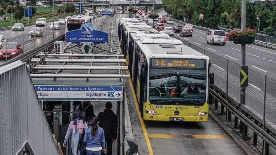 Metrobüs 11 Kasım'da FSM'yi kullanacak