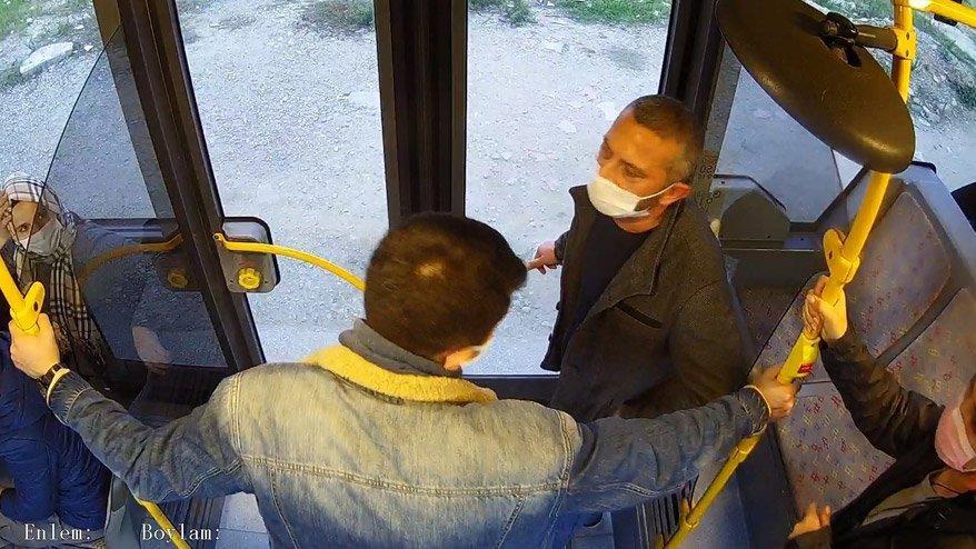Otobüsteki tacizci tutuklandı