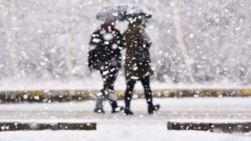 Meteorolojiden iki kente 'kar' uyarısı