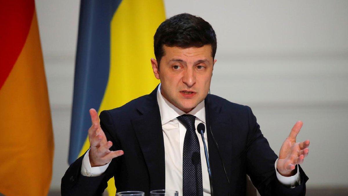 Ukrayna Devlet Başkanı Zelenskiy hastaneye kaldırıldı