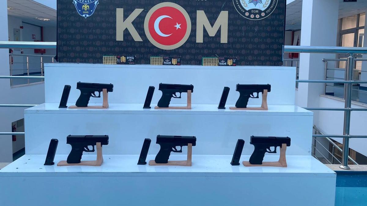 Şafak vakti silah kaçakçılarına dev operasyon