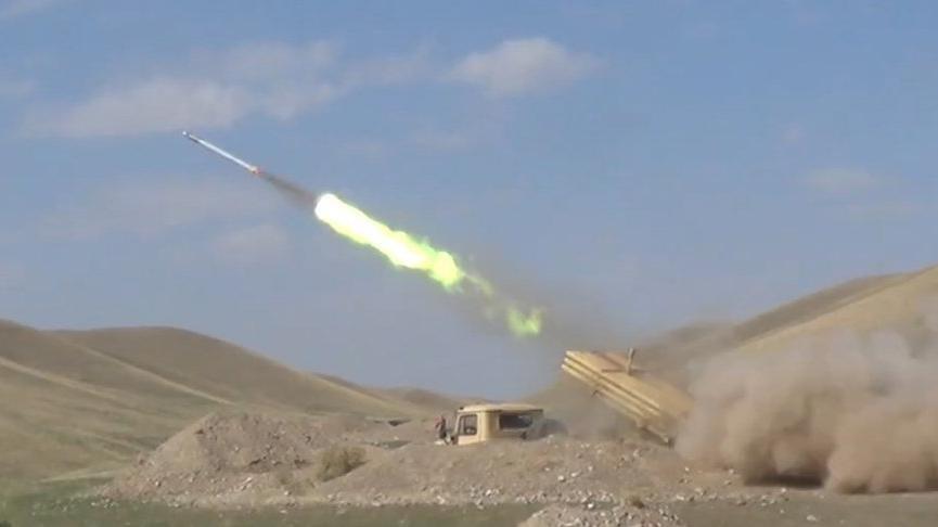 Ermenistan, Azerbaycan'a 30 binden fazla mermi ve 227'den fazla roket attı
