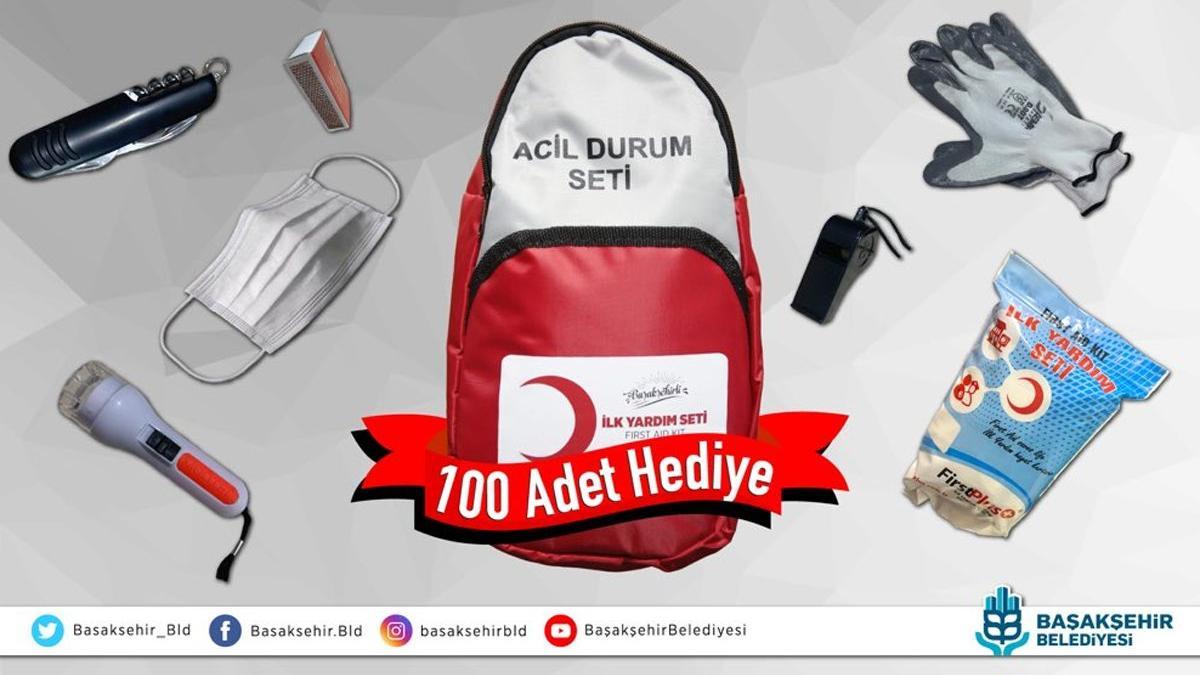 AKP'li belediye başkanını takip edene deprem çantası hediye!