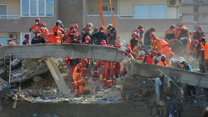 İzmir depreminde can kaybı 116'ya yükseldi