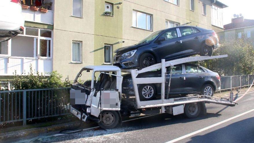 Sıfır araçların milyonluk trafik kazası