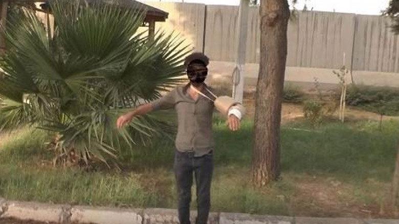 Yakalanan terörist bombayı kolundaki alçıya saklamış