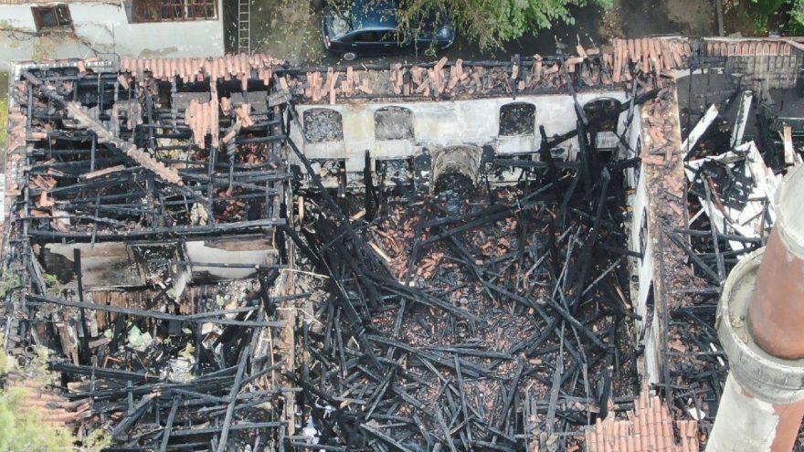 Vaniköy Camii'nin nasıl yandığı belli oldu